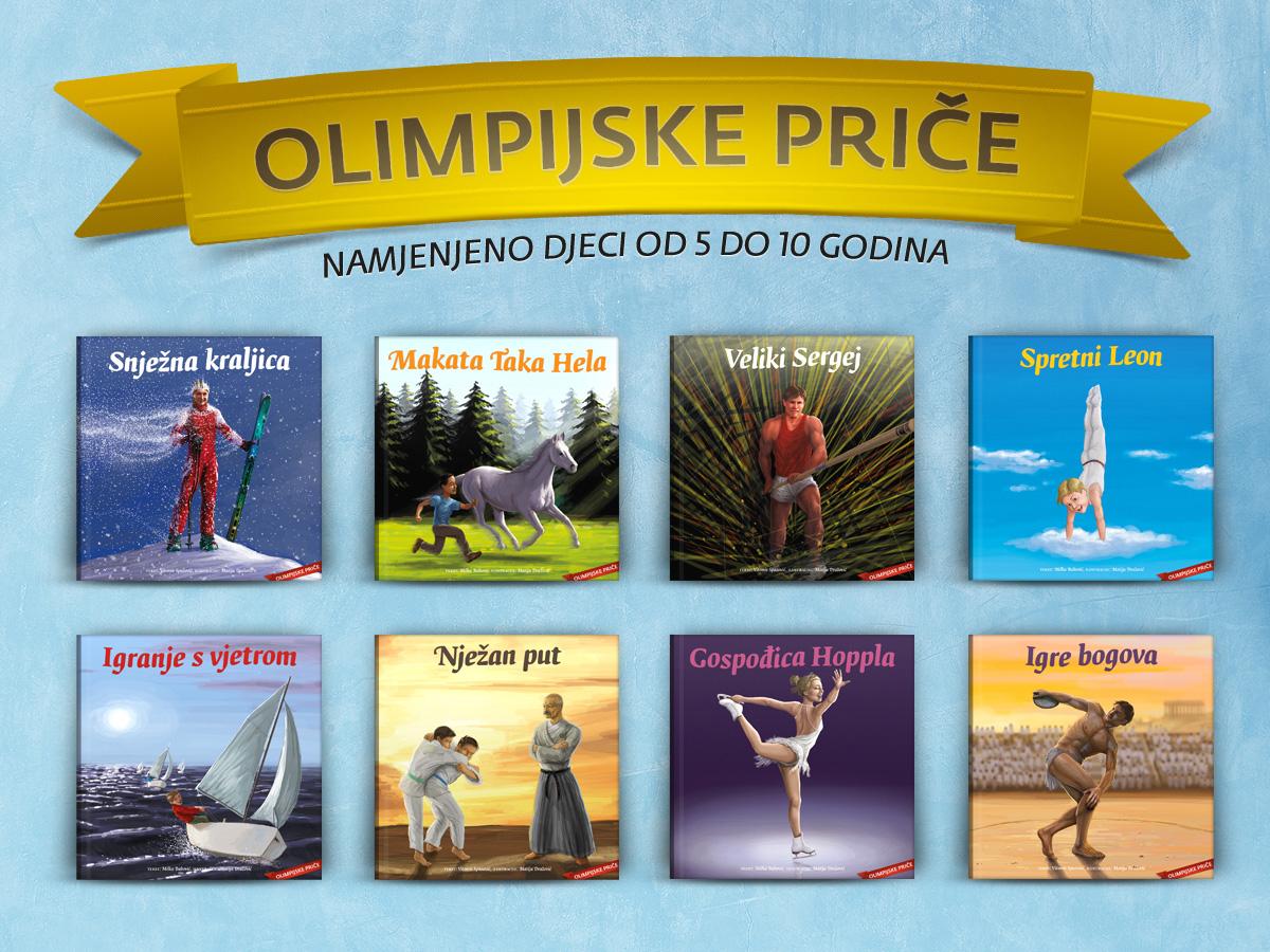 Knjige Olimpijske priče