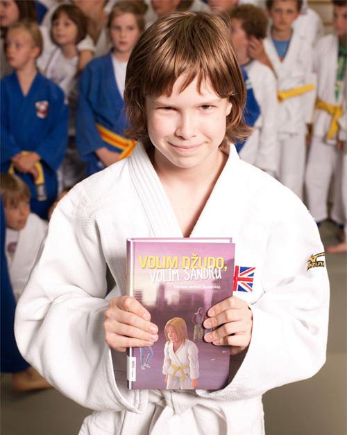 'I love Judo, i love Sandra'