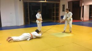 igra i vježba judo pojasom