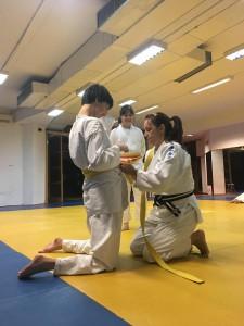 naučit ću vezati judo pojas