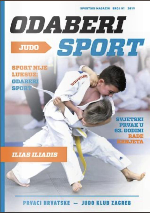 Odaberi sport: Judo - broj 1
