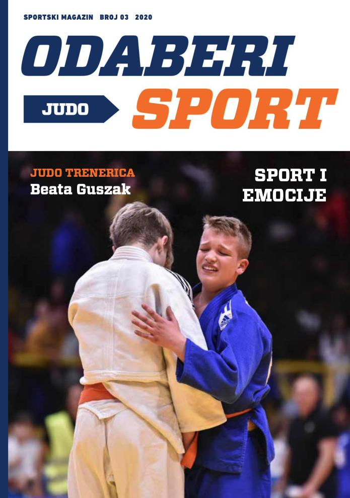 Odaberi sport: Judo - broj 3